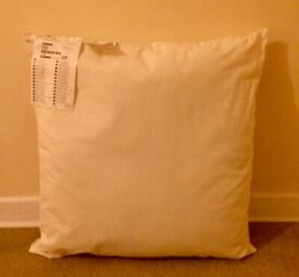 IKEA INNER CUSHION PADS LARGE SIZE 65cm x 65cm - 3 FOR £10 - AS NEW