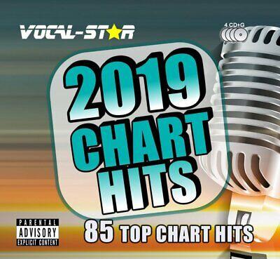 2019 KARAOKE POP CHART HITS 85 SONGS CD+G DISC SET - VOCAL-STAR - BEST 2019 HITS