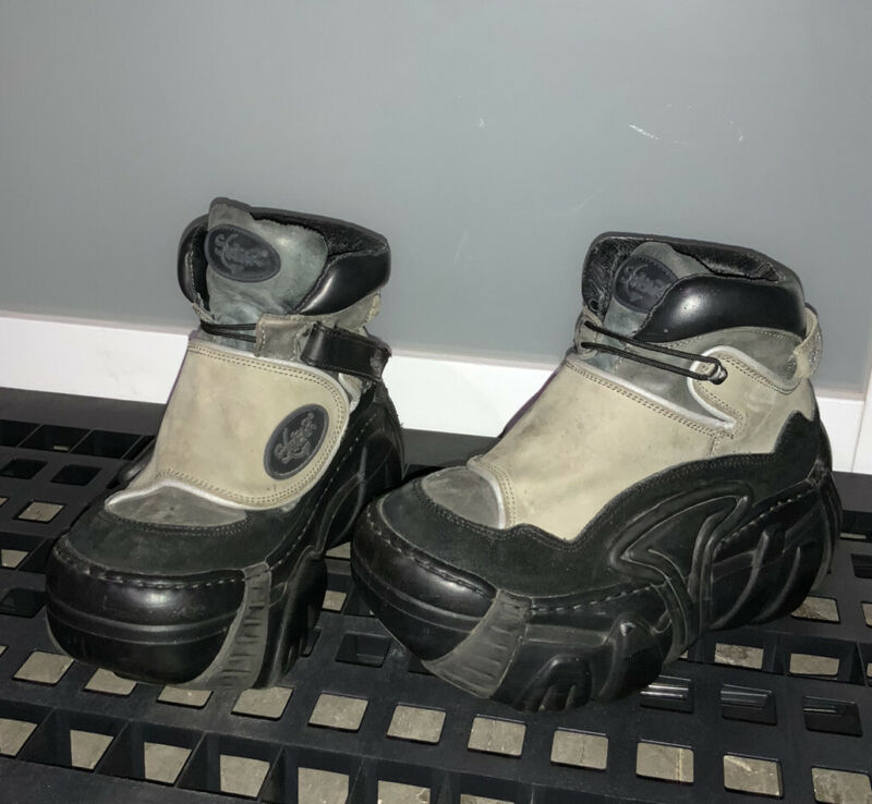VERY RARE 90's Vintage Swear Platform Shoes, EXTERMINATOR