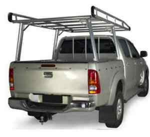Toyota Hilux Ladder rack with basket Modbury North Tea Tree Gully Area Preview