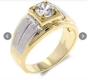 14k Yellow Gold with white gold inlay Burwood Burwood Area Preview