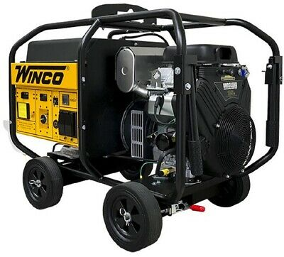Winco Wl22000ve 19kw Running 120240v 1 Phase Portable Generator Anderson Plugs
