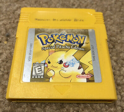 Pokemon Yellow Version: Special Pikachu Edition (Game Boy, 1999) Authentic Saves