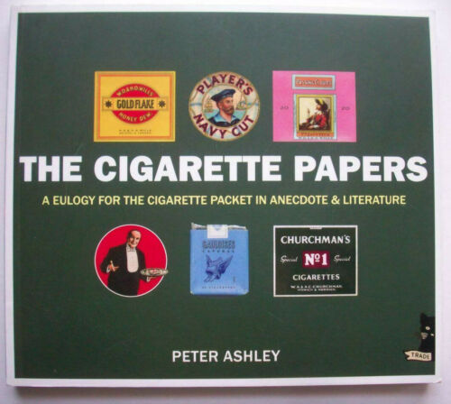 The Cigarette Papers history  reference book of Europe packs