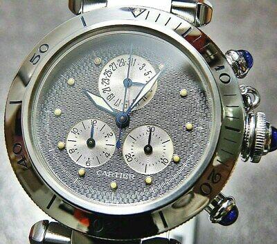 Cartier Pasha Chronograph /Stainless Steel / Quartz / Men