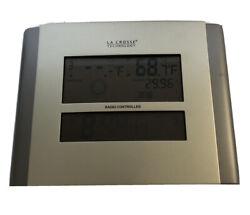 La Cross Technology Radio Controlled Clock model # 512-807