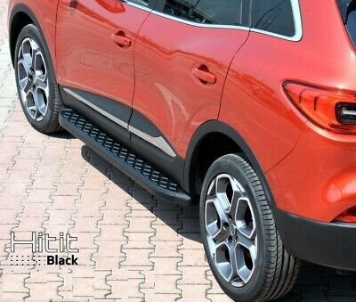 Trittbretter Mercedes-Benz GLA ab Baujahr 2013 Model Hitit in schwarz
