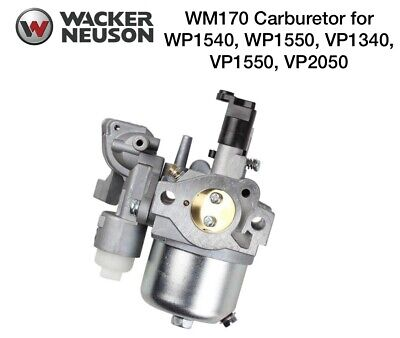 Wacker Oem Wm170 Carburetor For Wp1550 Wp1540 Vp1340 Vp1550 Vp2050 Plate 0156534