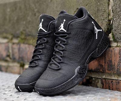 Mens Nike Air Jordan XX9 Sneakers New, All Black / Blackout 695515-010