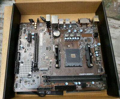 Scheda Madre MSI B450M-A Pro Max mATX DDR4 AM4 TESTATA Reti e Componenti