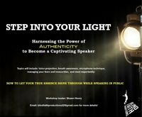 Harnessing your authenticity to become a captivating speaker