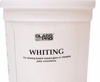2 LB Whiting Powder for Stained Glass Putty / Cement Cleanup