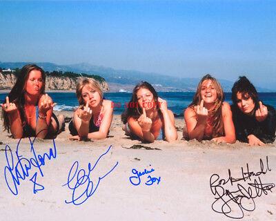 The Run Aways Joan Jett Lita Ford Signed 8x10 Autographed Photo Reprint