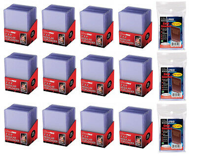 300 ULTRA PRO TOPLOADERS AND 300 SOFT SLEEVES NIP Free Shipping