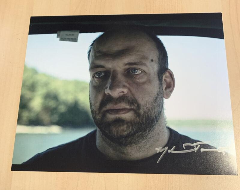 MICHAEL TOUREK HAND SIGNED 8x10 PHOTO ACTOR AUTOGRAPHED ASH OZARK SHOW RARE COA