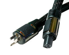 PS Audio AC-3 12AWG Power Cable (2.0 Metre). 3 Prong Male to Female. New!!