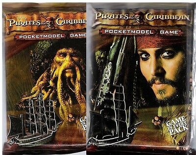 WIZKIDS PIRATES : PIRATES OF THE CARIBBEAN BOOSTER PACK X 6