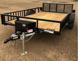 2017 Diamond C 2PSA 83 Utility Trailer