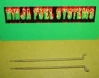 Primary Metering Rods For Quadrajet Carburetor .043 Pair For Tuning 1974 Earlier