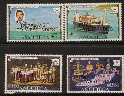 ANGUILLA SG298/301 1977 ROYAL VISIT MNH
