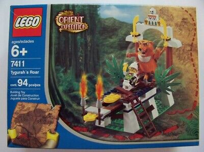 Lego Orient Expedition Tygurah's Roar  NEW 7411
