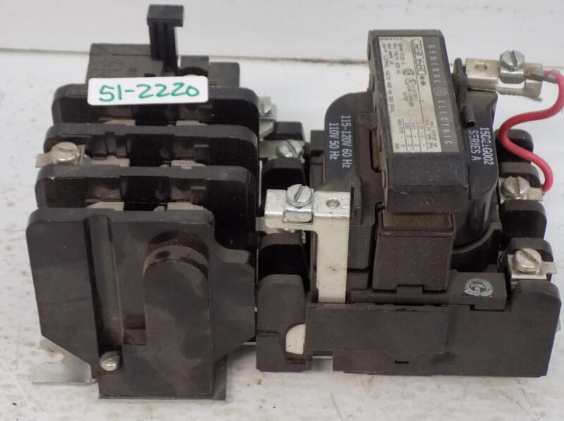 GENERAL ELECTRIC SIZE 0 MAGNETIC CONTACTOR MOTOR STARTER CR30680**