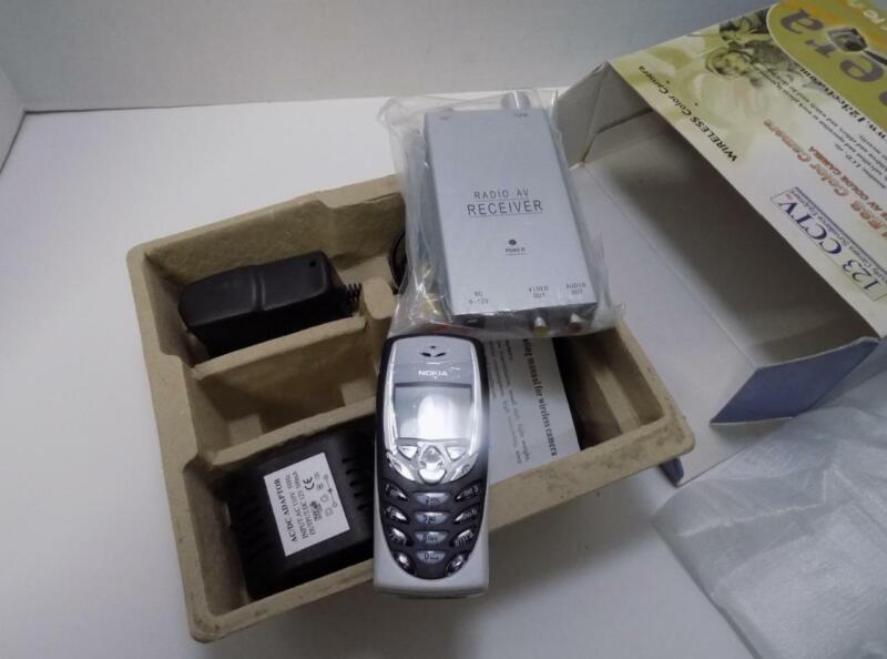 123CCTV 2212S Wireless Nokia Cell Phone Hidden Surveillance Camera Kit