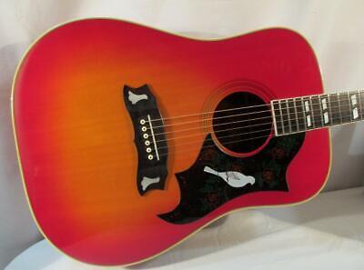 Vintage Morris DOVE Acoustic Guitar w/ OHSC 1970s Japan Gibson Lawsuit Era WD-25