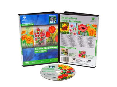 Kathi Hanson Watercolor Painting Instructional DVD   Creative Floral Design! comprar usado  Enviando para Brazil