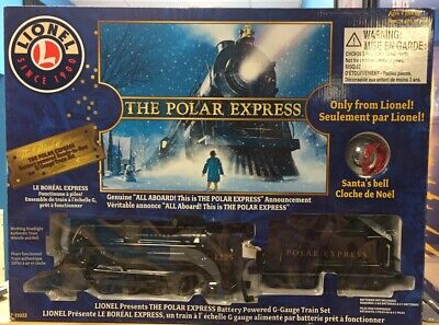 New Lionel 7-11022 G-gauge The Polar Express ReadyTo RunTrain Set X-Mas Train