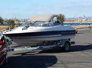 Bayliner capri fishing/ski boat Adelaide CBD Adelaide City Preview