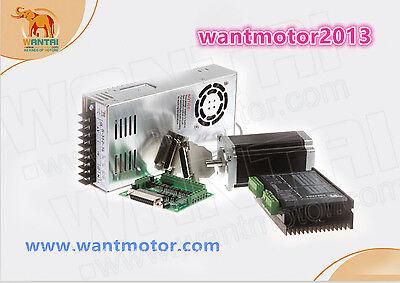 Us Free 1axis Wantai Nema23 Cnc 425oz-in 57bygh115-003b Dual Shaft 3a Cnc Cut