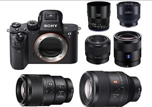 Sony A7ii with or without lens