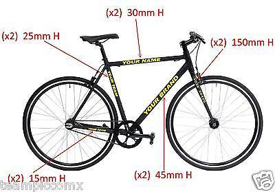 Crank Set Stickers Decals SRAM XX1 Mountain Bike Bicycle Adhesive 2Pc Green #1