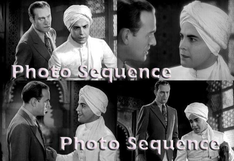 SON of INDIA Ramon Novarro Conrad Nagel PHOTO Sequence #01