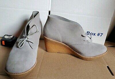 Wedge Platform Boots (Cole Haan 'Britt' Wedge Chukka Bootie High Platform 11 light gray)