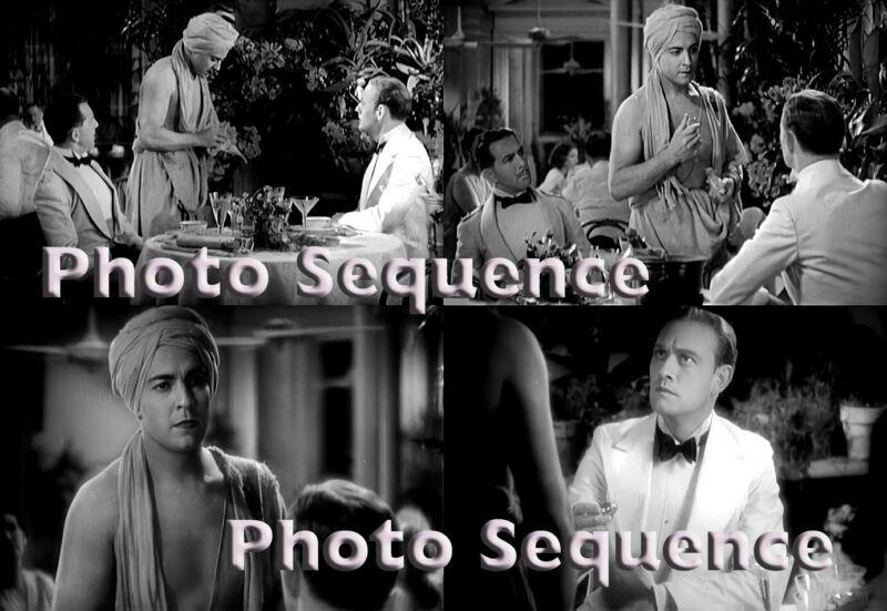 SON of INDIA Ramon Novarro Conrad Nagel PHOTO Sequence #03