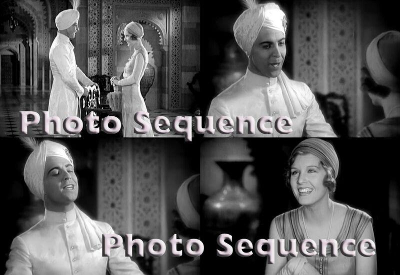 SON of INDIA Ramon Novarro Madge Evans PHOTO Sequence #01