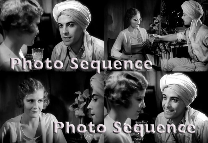 SON of INDIA Ramon Novarro Madge Evans PHOTO Sequence #02