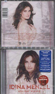 Idina Menzel   Holiday Wishes  Cd 2014  New Buble   2 Bonus Tracks