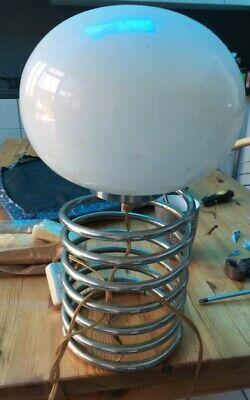 "Lampe de table "" Spirale "" 1970's Design Ingo Maurer 7 ressort ,"