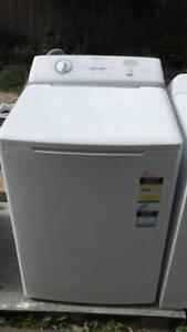large 7.5 kg EZIset simpson top washing machine.