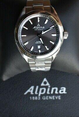 Alpina Alpiner SWISS Quartz Gray Dial Stainless Steel Men's Watch AL-240GS4E6B