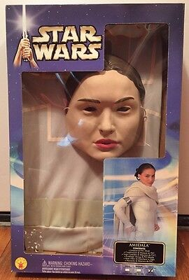 NEW Star Wars Costume AMIDALA 2002 by Rubie's Costume Co. Size LARGE 12-14