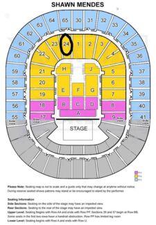 2 x SHAWN MENDES Illuminate World Tour - Melbourne Concert Ticket