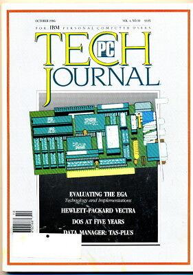 PC Tech Journal - Oct 1986 - HP VECTRA