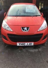 Peugeot 207 1.4 Hdi Diesel £30 ROAD TAX FOR THE YEAR Good Condition 1 Previous Owner Bargain £2395