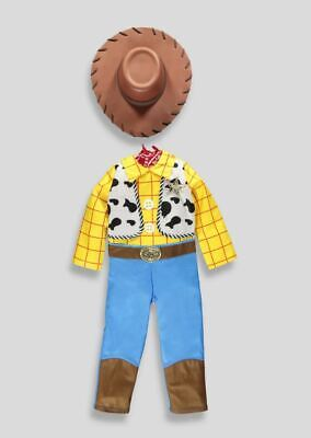 NEW Boys Disney Toy Story Woody Fancy Dress Up - Woody Boys Costume