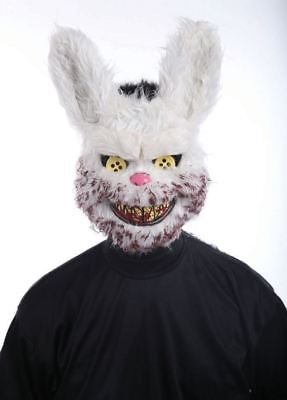 Horror Bunny Rabbit Mask Halloween Killer Adult Fancy - Rabbit Halloween
