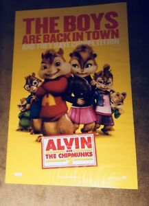 Alvin and the Chipmunk 2 Movie Poster